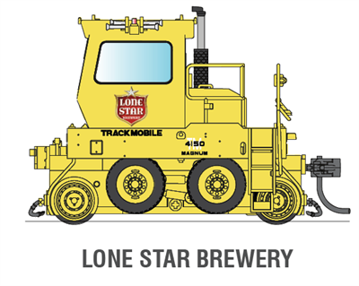 6048 lone star brewery trackmobile dc version ho - Lionsstar mobel ...