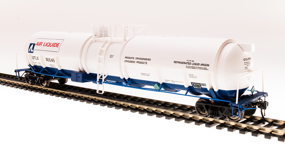 Linde Cryogenic Tank Car 2-Pack N Broadway Limited #3724