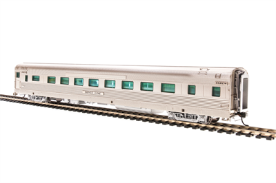 Image of item 1557 Rio Grande Zephyr, Coach (ex-16 Section Sleeper) #1121, Silver Pine, HO