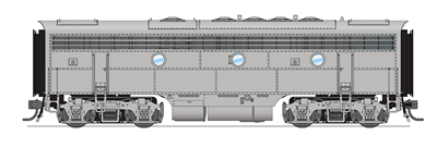 Image of item 4865 EMD F7B, Unpainted, Paragon3 Sound/DC/DCC, HO