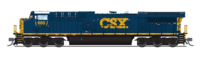 Image of item 6277 GE AC6000, CSX #680, YN3 Paint Scheme (