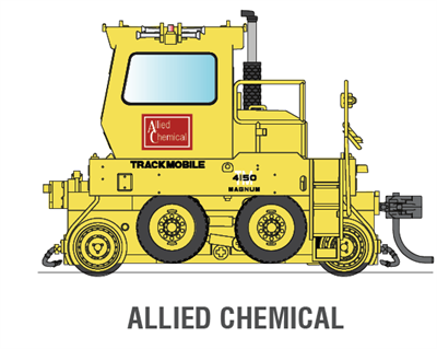 Image of item 6041 Allied Chemical Company Trackmobile, DCC Version, HO