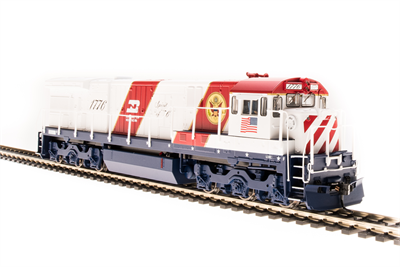 Image of item 4417 GE U30C, BN Bicentennial #1776, Red, White & Blue, Paragon3 Sound/DC/DCC, HO (NP)