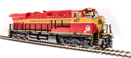 Image of item 5866 GE ES44C4, FEC 807, Red & Yellow, Paragon3 Sound/DC/DCC, Smoke, HO