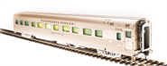 Image of item 521 Zephyr D&RGW 6 Bedroom - 5 Compartment Sleeper #1135, 'Silver Gull', HO
