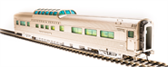 Image of item 1493 Zephyr CB&Q Vista Dome Car, #4717, 'Silver Lodge', HO