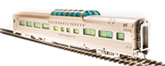 Image of item 514 Zephyr D&RGW Vista Dome Car #1100, 'Silver Bronco', HO