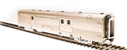 Image of item 501 Zephyr CB&Q Baggage Car #903 'Silver Bear' HO