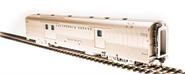 Image of item 513 Zephyr D&RGW Baggage Car #1100 'Silver Antelope', HO