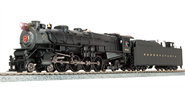 Image of item 4076 PRR M1a 4-8-2, #6712, Pre-war, Paragon3 Sound/DC/DCC, HO