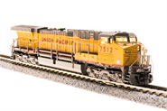Image of item 3752 GE AC6000, UP #7545, Yellow & Gray Scheme, Paragon3 Sound/DC/DCC, N