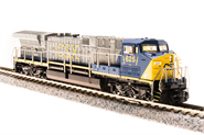 Image of item 3744 GE AC6000, CSX #634, Blue/Gray/Yellow, Paragon3 Sound/DC/DCC, N