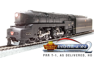 Image of item 2475 PRR T1 4-4-4-4, Unlettered, As-Delivered Version, Paragon2 Sound/DC/DCC, HO