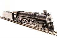 Image of item 4593 ATSF 4-8-4 Northern, #3751, Paragon3 Sound/DC/DCC, Smoke, HO