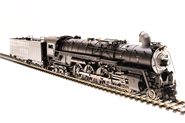 Image of item 4595 ATSF 4-8-4 Northern, #3758, Paragon3 Sound/DC/DCC, Smoke, HO