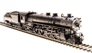 Image of item 5466 UP MT Class 4-8-2, #7012, Black & Graphite, Oil Tender, Paragon3 Sound/DC/DCC, Smoke, HO