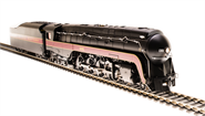Image of item 4871 N&W Class J, #606, In-Service Version, Paragon3 Sound/DC/DCC, Smoke, HO