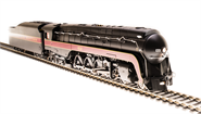 Image of item 4874 N&W Class J, #612, In-Service Version, Paragon3 Sound/DC/DCC, Smoke, HO