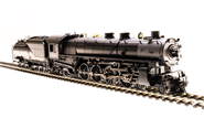 Image of item 5473 UP MT Class 4-8-2, Unlettered, Black, Coal Tender, Paragon3 Sound/DC/DCC, Smoke, HO