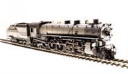 Image of item 5474 UP MT Class 4-8-2, Unlettered, Two-tone Gray w/ Aluminum, Oil Tender, Paragon3 Sound/DC/DCC, Smoke, HO