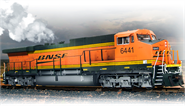 Image of item 4007 GE AC6000, BNSF #6438, High Ditch Lt., Swoosh Scheme, Paragon2 Sound/DC/DCC, w/ Smoke, HO