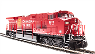 Image of item 4012 GE AC6000, CP #9808, Golden Beaver Scheme, Paragon2 Sound/DC/DCC, w/ Smoke, HO