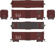 Image of item 1757 NYC Steel Box Car, #103633, with 7/8 corrugated ends, post-1955 Extended Gothic lettering, HO