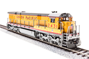 Image of item 2455 GE C30-7, UP #2444, Yellow & Gray, Paragon2 Sound/DC/DCC, HO