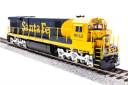 Image of item 2441 GE C30-7, ATSF #8018, Blue & Yellow, Paragon2 Sound/DC/DCC, HO