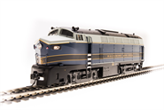 Image of item 5755 B&O Sharknose, RF-16 A, #859, Blue/Gray/Gold, Paragon3 Sound/DC/DCC, HO