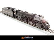 Image of item BLI-2570 N&W Y6b 2-8-8-2, #2196, with 22I tender, modern bell, Paragon2 Sound/DC/DCC, HO