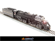 Image of item BLI-2571 N&W Y6b 2-8-8-2, #2197, with 22I tender, modern bell, Paragon2 Sound/DC/DCC, HO