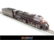 Image of item BLI-2572 N&W Y6b 2-8-8-2, #2198, with 22I tender, modern bell, Paragon2 Sound/DC/DCC, HO