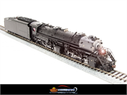 Image of item BLI-2575 N&W Y6b 2-8-8-2, Unlettered, with 22I tender, modern bell, Paragon2 Sound/DC/DCC, HO