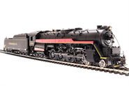 Image of item 2141 Reading T1 4-8-4, Ferroequus #2100, Paragon2 Sound/DC/DCC, HO