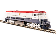 Image of item 4418 GE U30C, USDOT #001, Red, White & Blue, Paragon3 Sound/DC/DCC, HO (NP)