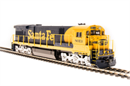 Image of item 4401 GE C30-7, ATSF #8050, Yellow Bonnet, Paragon3 Sound/DC/DCC, HO