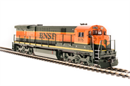 Image of item 4407 GE C30-7, BNSF #5177, Green & Orange, Paragon3 Sound/DC/DCC, HO