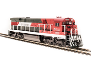 Image of item 4410 GE C30-7, Ferromex #3555, Red, Blue & White, Paragon3 Sound/DC/DCC, HO