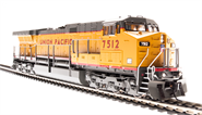 Image of item 4015 GE AC6000, UP #7545, Yellow & Gray Scheme, Paragon2 Sound/DC/DCC, w/ Smoke, HO