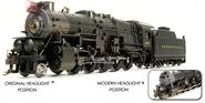 Image of item BLI-2491 PRR I1sa 2-10-0, Unletered/Unnumbered, Original Headlight, 90F82 Short Tender, Paragon2 Sound/DC/DCC, HO